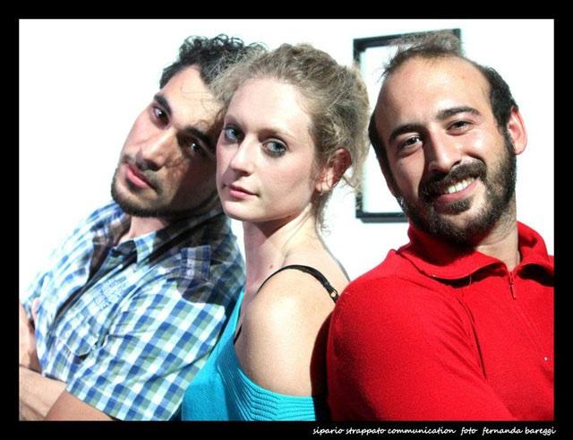Davide Mancini, Alessandra Caviglia, Marco Taddei (foto Fernanda Bareggi)